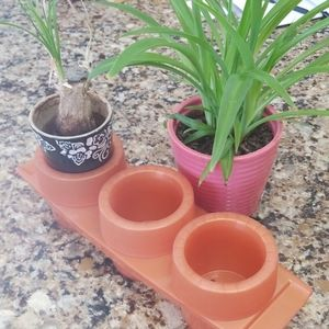 Tupperware Hostess Item Planter EUC